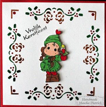 Hobbydots Christmas Candle Tilda 1