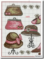 bolsos, sombreros, zapatos punto de cruz (2)