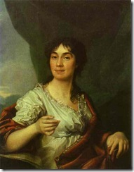 Dmitry Levitzky - Portrait of Countess A S Protasova
