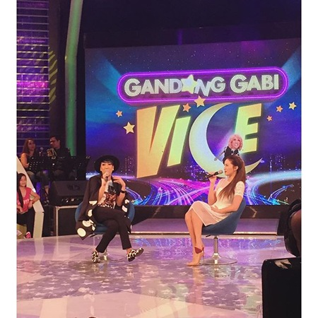 Vice Ganda and Sarah Lahbati in Gandang Gabi Vice