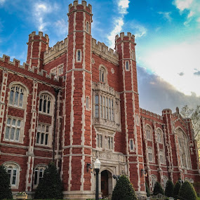 University of Oklahoma by John Spain - Instagram & Mobile iPhone ( sky, hdr, iphone )