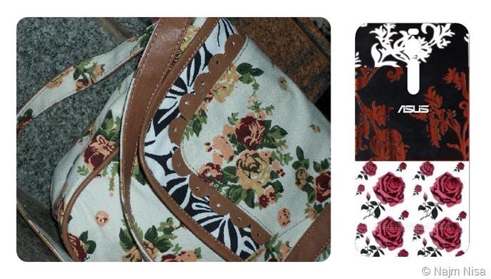 bag elegant expression asus floral case cover