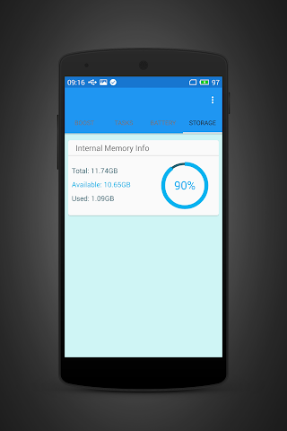 android RAM Clearing Screenshot 5