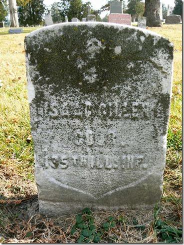 GILLEN_Isaac_headstone_born about 1843_Mt HopeCem_UrbanaChampaignIllinois