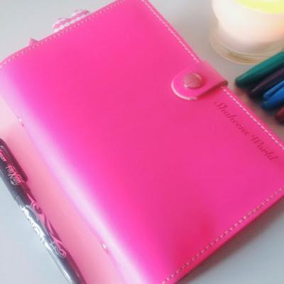 planner, organiser, diary, filofax, pink floor original