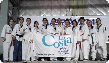 En un torneo federado, La Costa obtuvo 8 medallas de oro y tres de plata