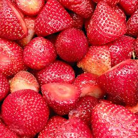 Strawberries by Lope Piamonte Jr - Food & Drink Fruits & Vegetables