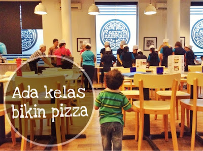 membuat pizza dipizza express