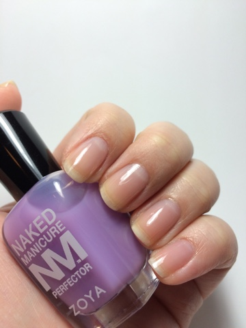 How to Hide Yellow Nails with Zoya Naked Manicure Perfectors