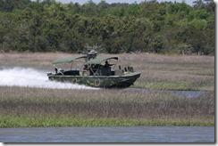 Camp LeJeune Military Boat underwayII
