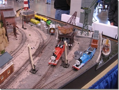 IMG_0679 Bachmann HO-Scale Thomas the Tank Engine Display Layout at the WGH Show in Puyallup, Washington on November 21, 2009