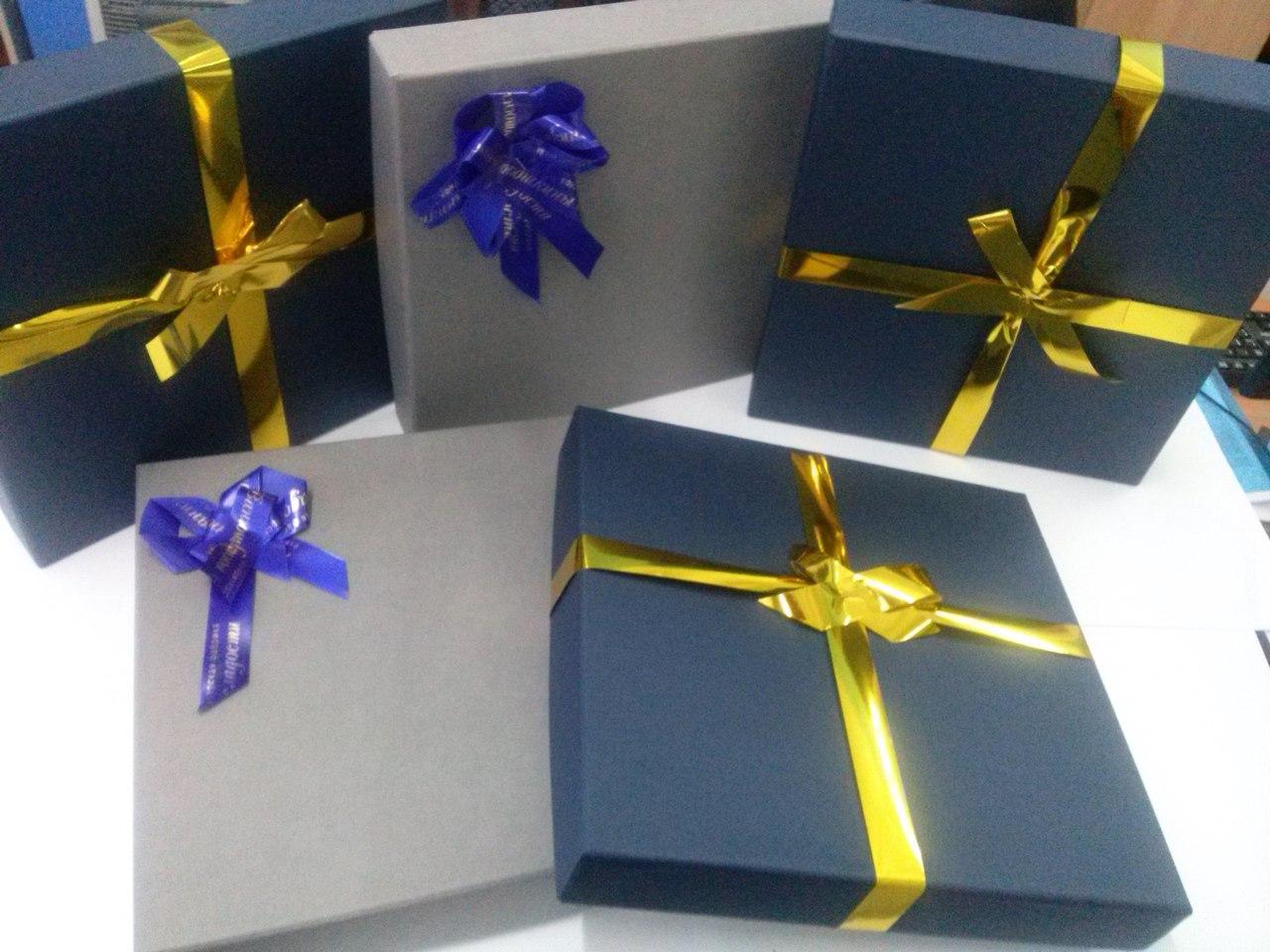 Изготовление деловых подарков