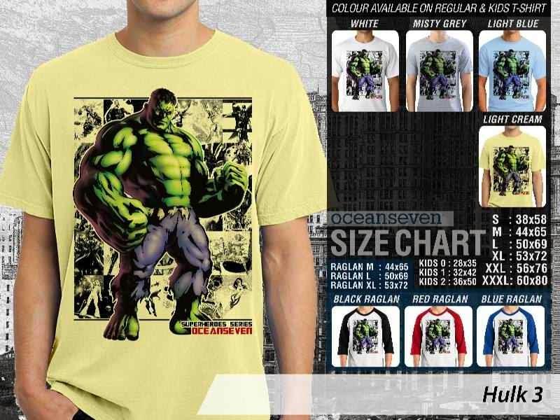 KAOS Hulk 3 Amazing Superhero distro ocean seven