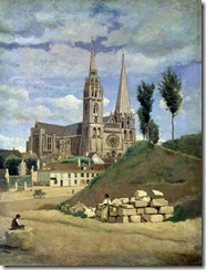 chartres-cathedral-jean-baptiste-camille-corot-