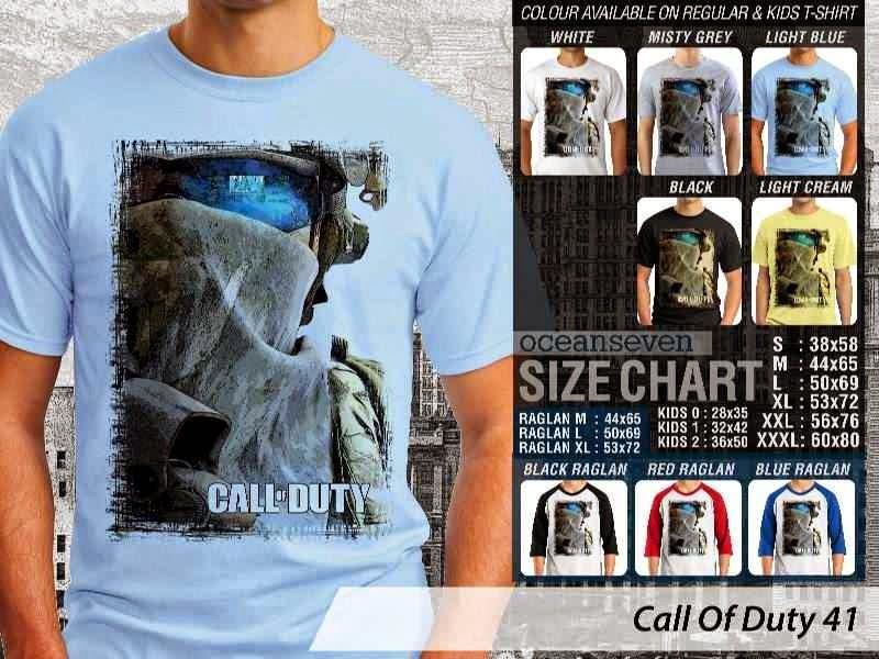 KAOS cod Call Of Duty 41 Game Series distro ocean seven