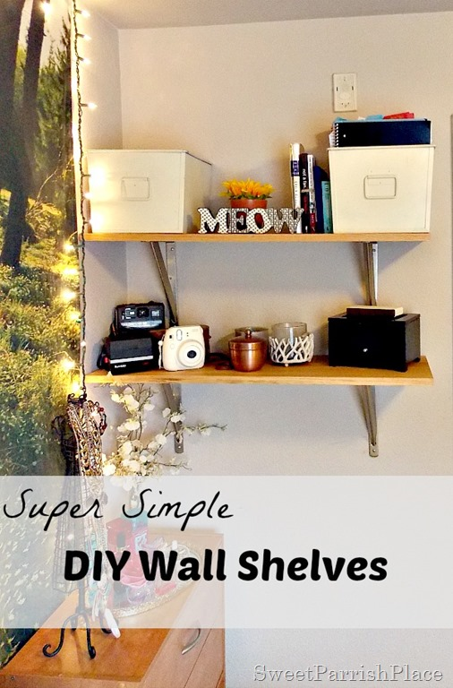 DIY Wall Shelves2