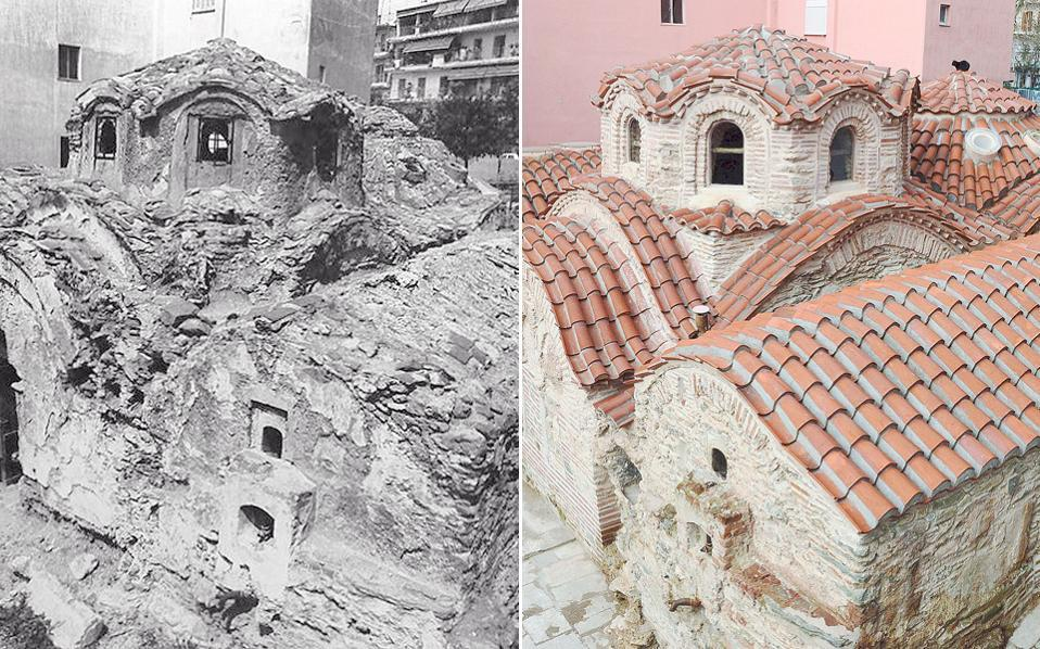 Byzantine bathhouse in Thessaloniki restored