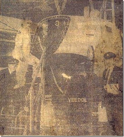 Refueling Graf before Weltflug, 1929