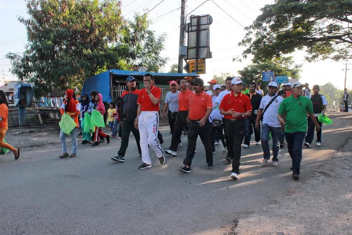 Fun Walk 2015 bersama Bupati Bantaeng dan Gubernur SulSel-2