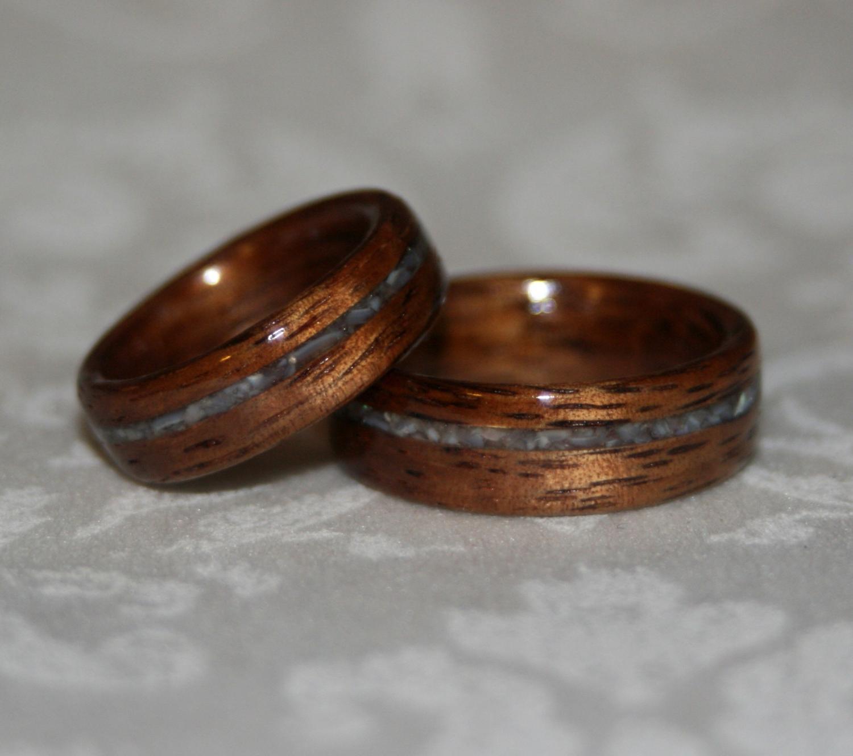 Set of Custom Wood Wedding