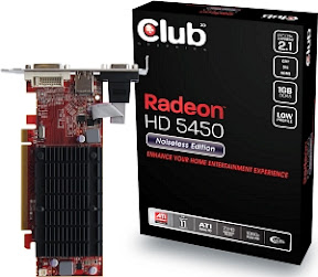CLUB3D Radeon HD 5450 1GB DDR3
