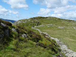 The wall between Sergeants Crag and Eagle Crag.