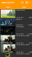 Screenshot of Gallery Cast Pro