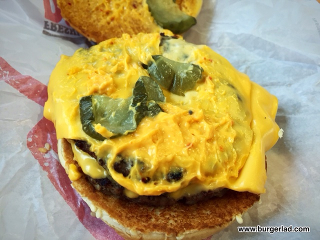 Burger King Double Chilli Cheeseburger