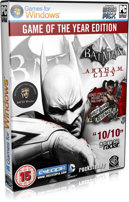 batman arkham city game of the year edition crack