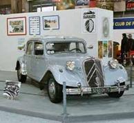 Citroen Traction 15-Six 1953 gris perle
