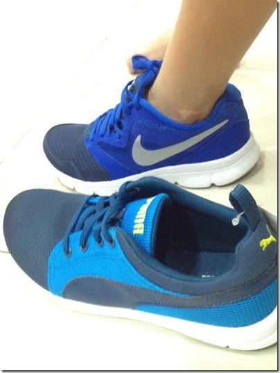 Nike Flex or Puma Carson Runner