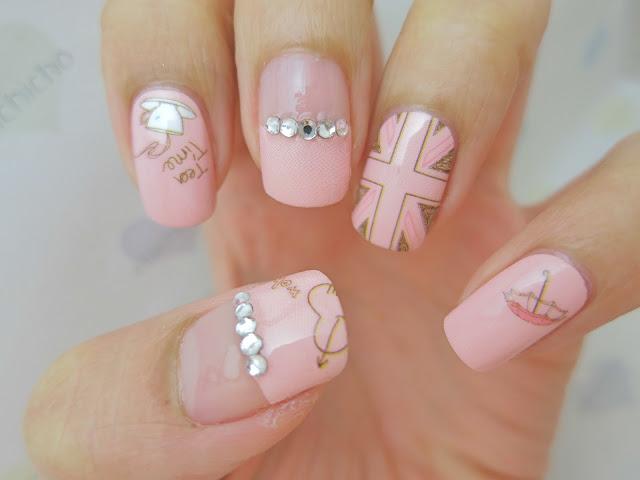 London Nail Art Nail Wrap D1019 - chichicho~