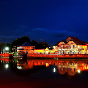 Siring Sungai Martapura by Surya Hidayat HB - City,  Street & Park  Historic Districts