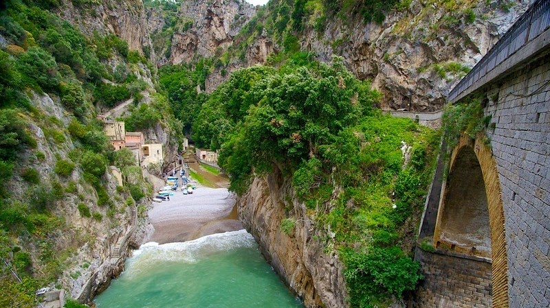 Маленький итальянский берег, скрытый в фьордах