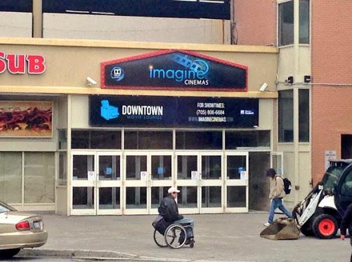 Imagine Cinemas Downtown Movie Lounge, 40 Elm St, Sudbury, ON P3C 1S8, Canada, Movie Theater, state Ontario