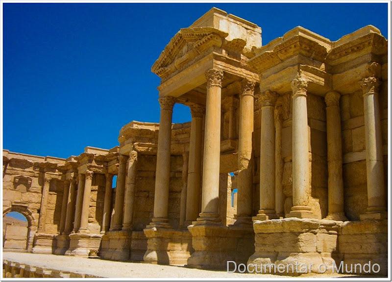 Teatro romano; Palmira