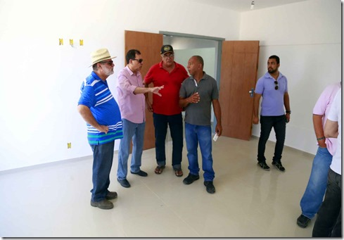 Prefeito fez ultima visita  ao Centro Administrativo de Ilhéus, no fim de semana apssado -  Foto Alfredo Filho Secom Ilheus (4)