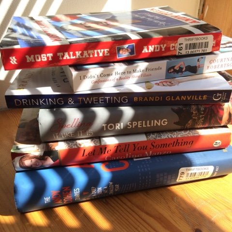 Reality Book pile