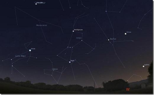 Constelaciones del invierno