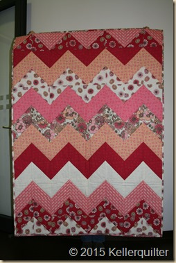 Quilt199-Pink Flowers