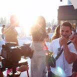 our camera crew at Cabana in Toronto, Ontario, Canada