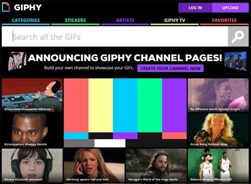 GIF animado en Facebook con Giphy - imagen principal del post