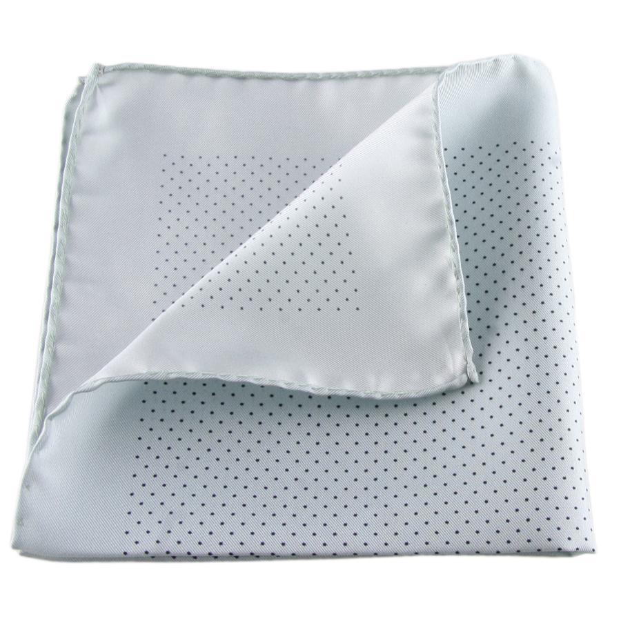 Polkadot Silk Handkerchief