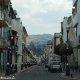 Chegando a Quito, Equador