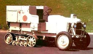 Citroen 1922 B2 autochenille