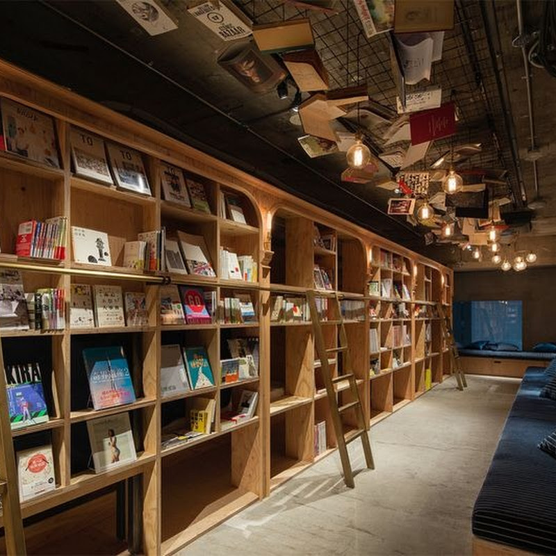 'Book and Bed' is a Bookstore Themed Hostel in Tokyo