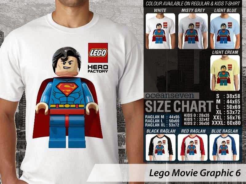 Kaos Superman lego distro ocean seven