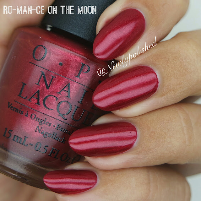 OPI Ro-man-ce on the moon