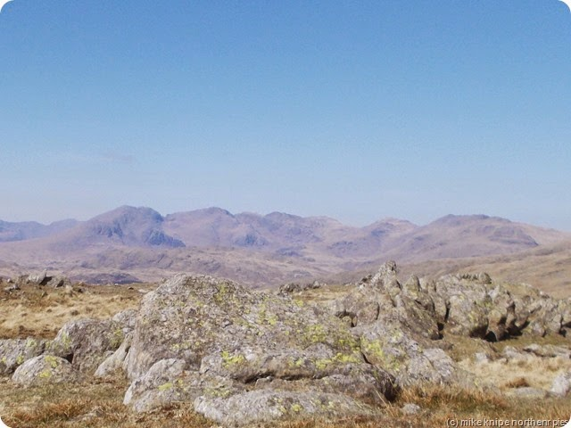 scafells from white maiden