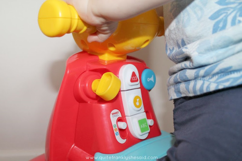 fisher price scooter smart stages review